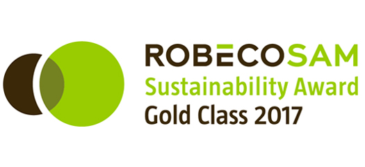 "Sodexo earns highest marks in RobecoSAM's ""Sustainability Yearbook"" for tenth straight year"
