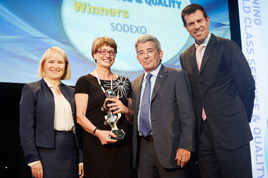 Sodexo Unilever Partner to Win Award 2014